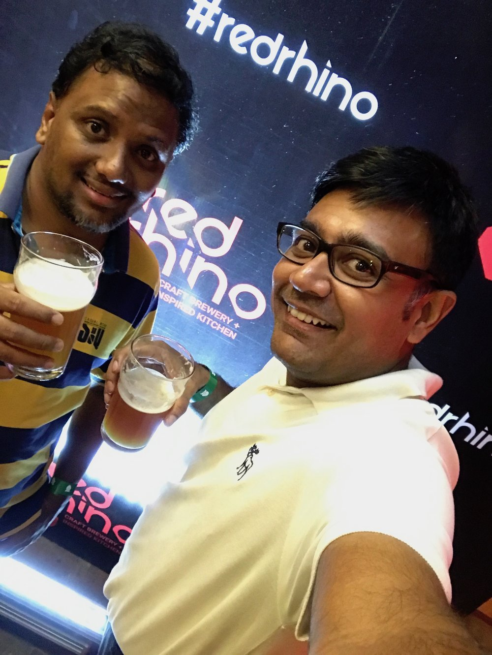 Selfie at Microbrewery | Red Rhino | Bengaluru | PritishSocial | Food Blogger