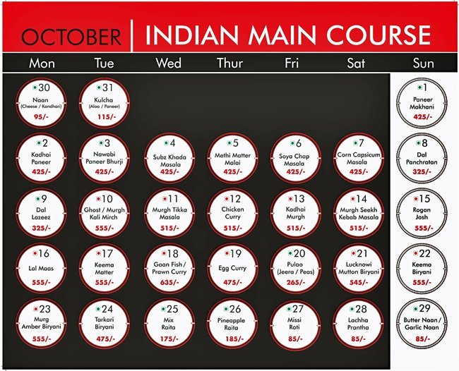 Warehouse Cafe Menu Connaught Place 10
