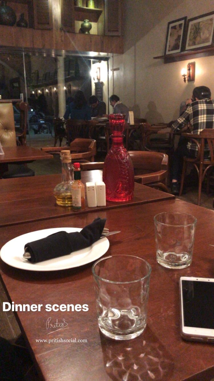Café Nomad Chandigarh | Best Middle Eastern Restaurant 3 |Sector 7 | Food Blog | PritishSocial