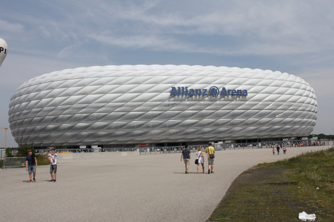 Allianz Arena Entrance