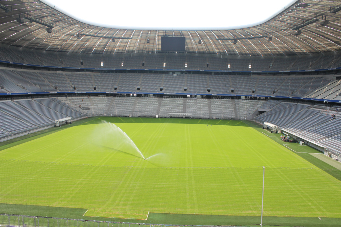 Allianz Arena Football Stadium Field