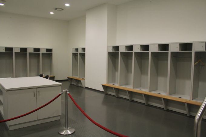Opponent Team Players' room