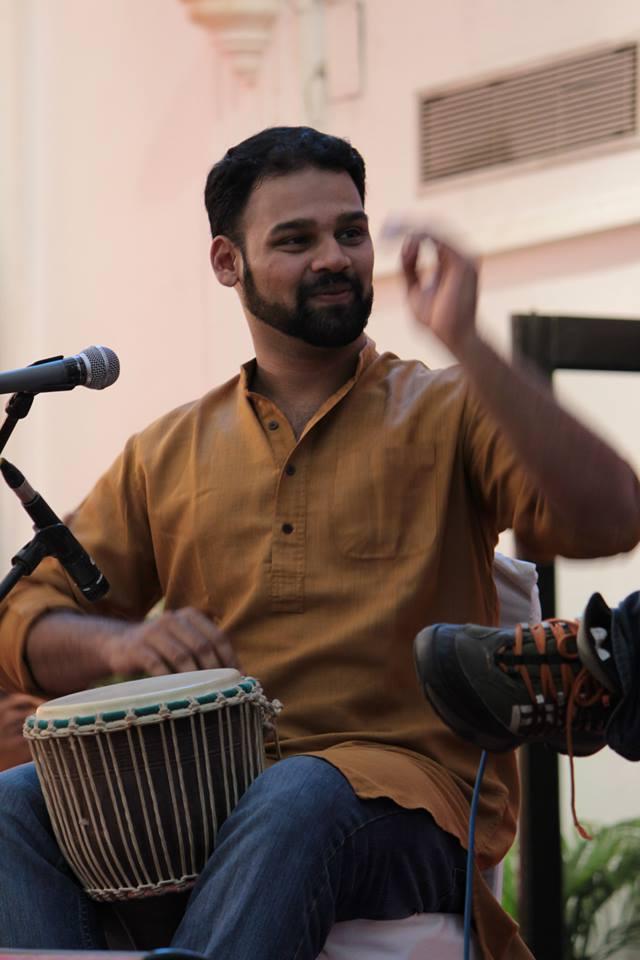 Ramana Percussionist Chennai Mridangist - PritishSocial People Blog.jpg
