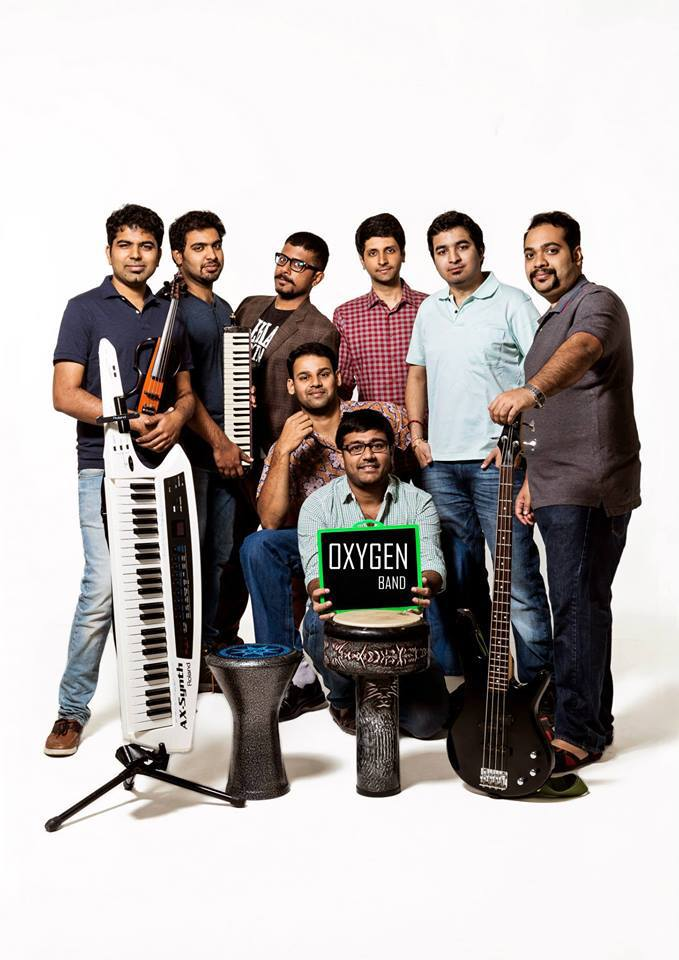 Ramana with Oxygen Fusion Music Band Chennai PritishSocial.jpg