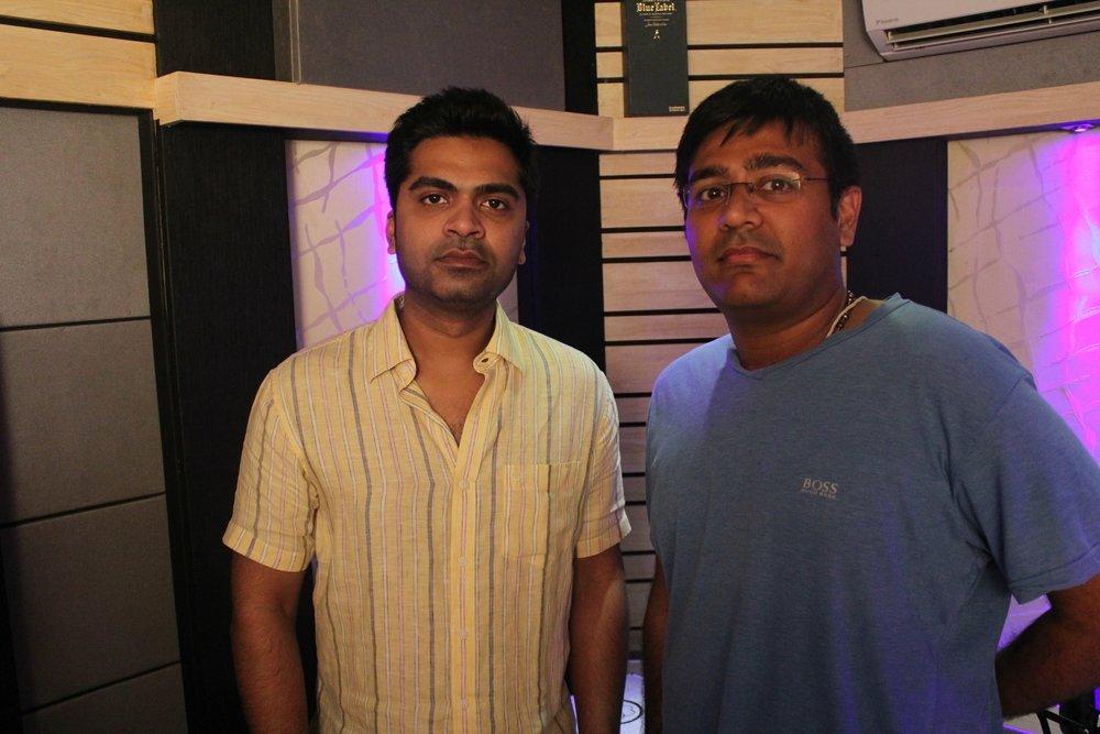With Actor Simbu
