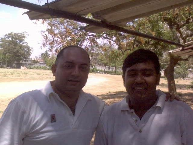 With Actor Arvind Swami