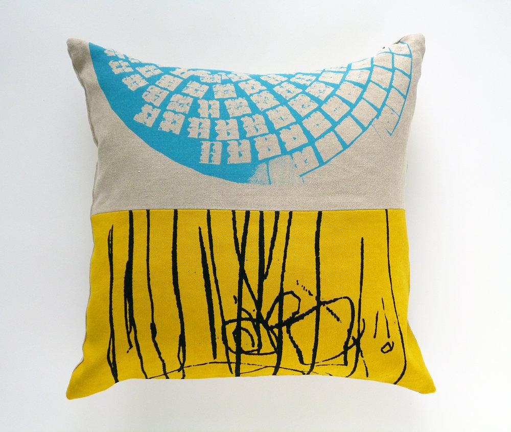 MHouse_Yellow Scribble_linen cushion.jpg