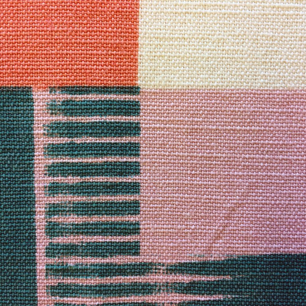Michelle_House_printed_textile_artwork_in progress_detail_ Londo