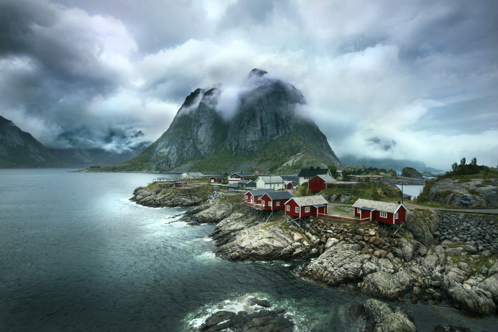 Hamnoy Clouds