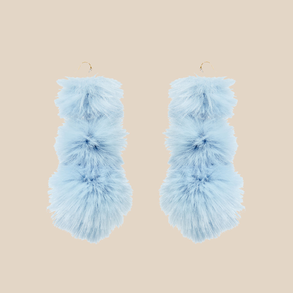 Cloud Puss Puss Earrings