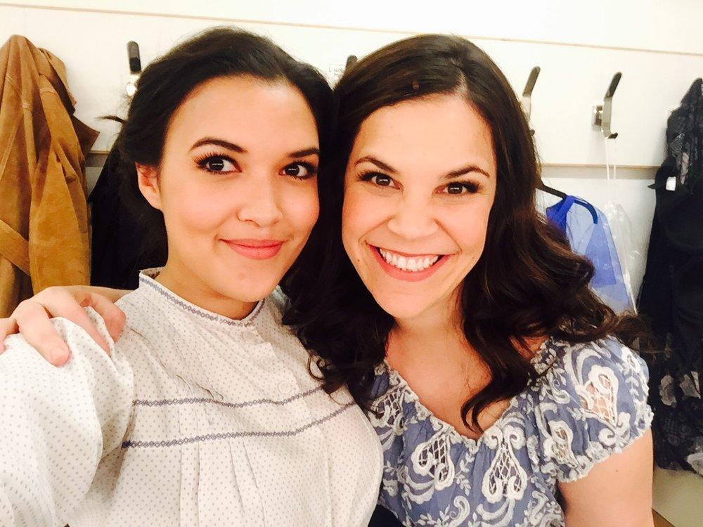 Backstage at the Golden Apple with Lindsay Mendez