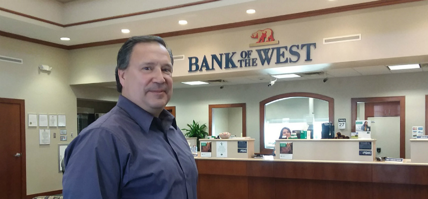 Jim Mahoney, Bank of the West, Morrison