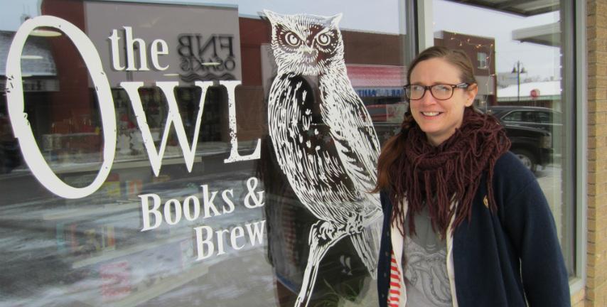 Heather Neal, Owl books & brew