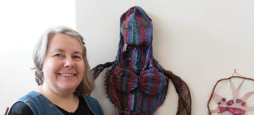 Victoria Hanna McKinney, fiber artist