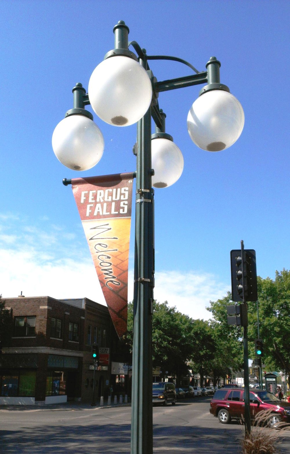 Downtown Fergus Falls, Minnesota