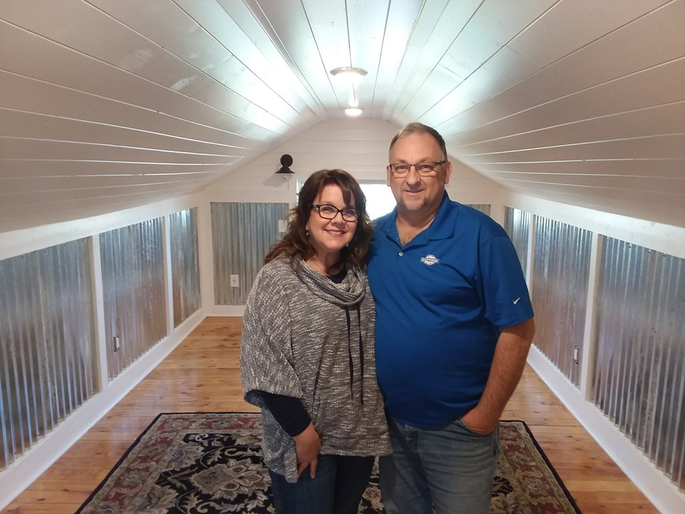 Bread Crumb Properties owner Chad and Barbara love remodeling old homes