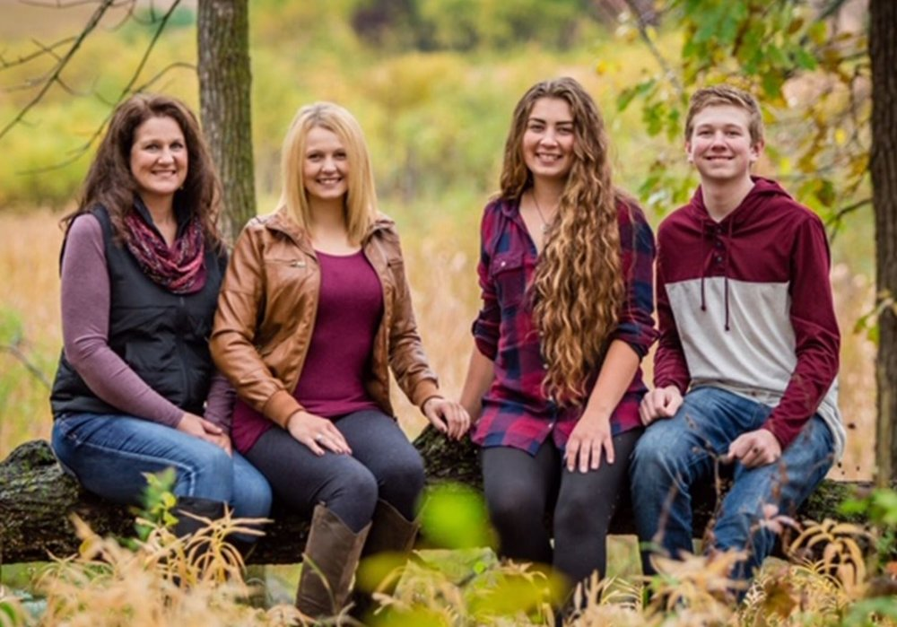 Michelle along with her son and daughters. Photo courtesy of  Galloping Dreams Photography .