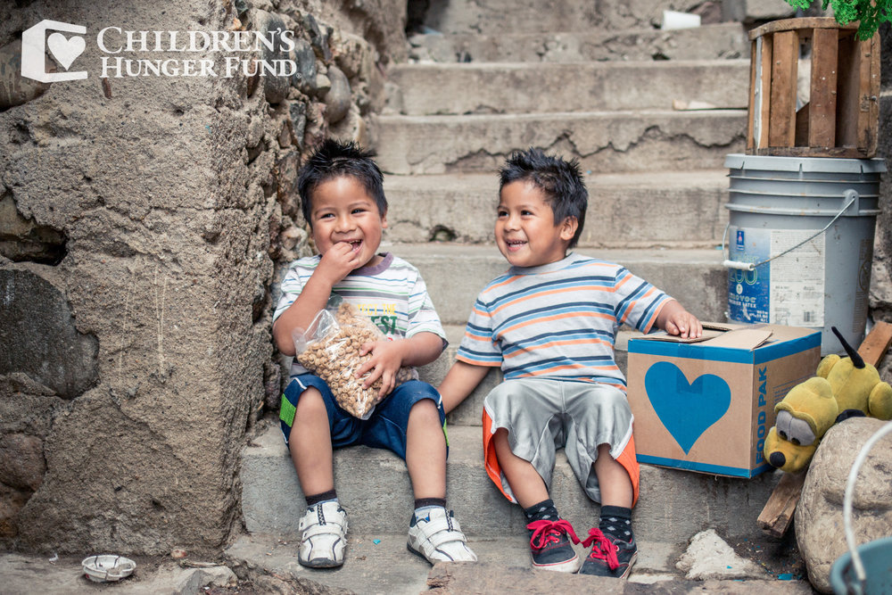 - We've partnered with Children's Hunger Fund to help make this world a better place by helping children in impoverished areas receive nourishing meals.