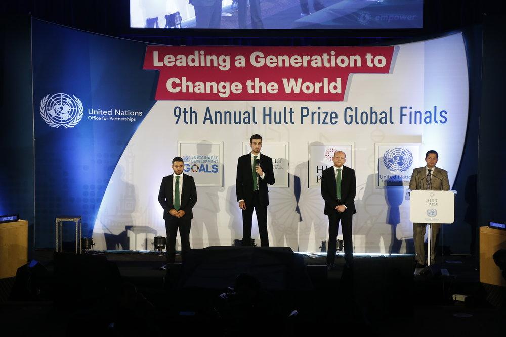 Hult Prize Global Finals 2018