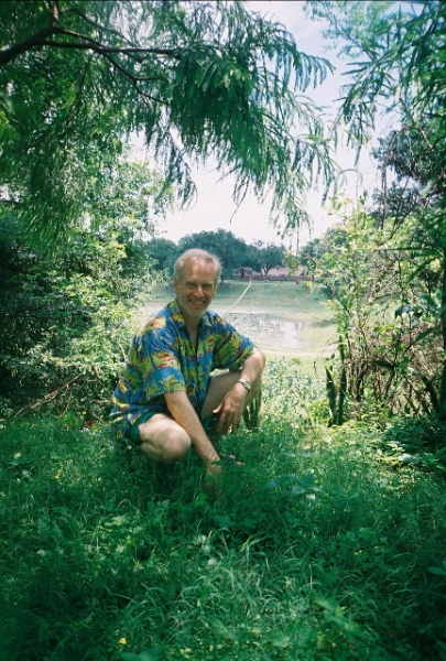 Steven Landau in India.