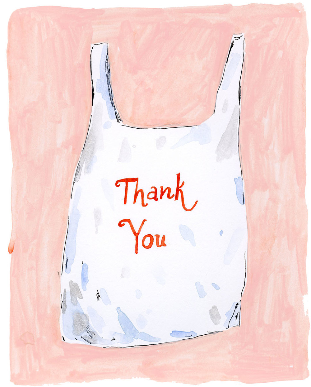 Elizabeth Graeber  Thank You Bag