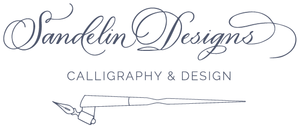 Sandelin Designs | Calligraphy & Engraving