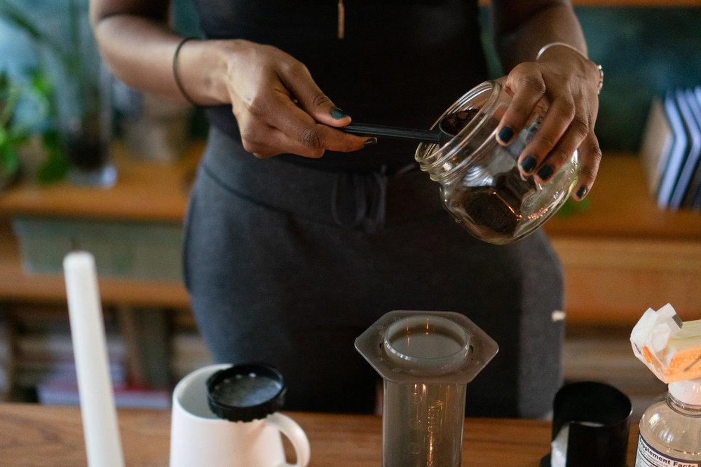 chan aeropress method coffee