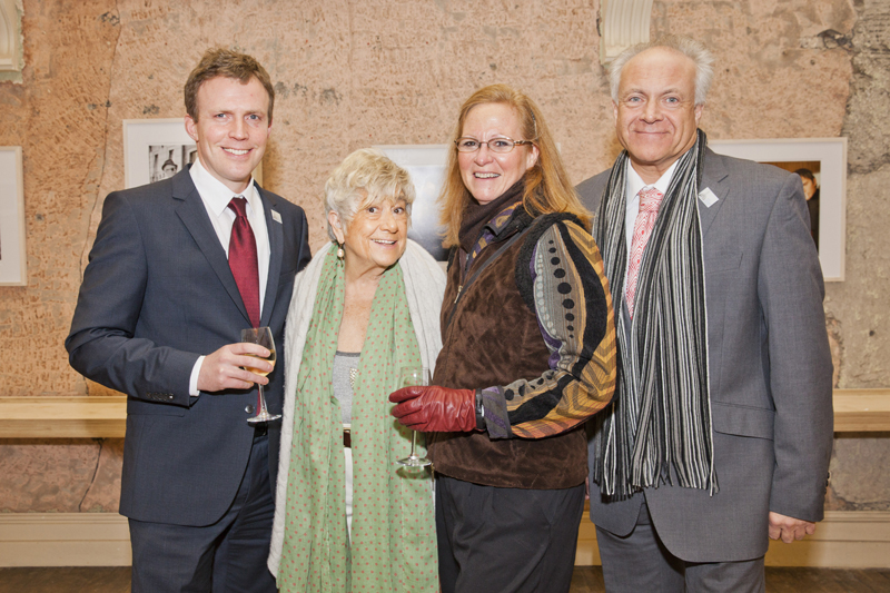 Donough Cahill, Susan Wood, Lucy Cook & Patrick Guinness