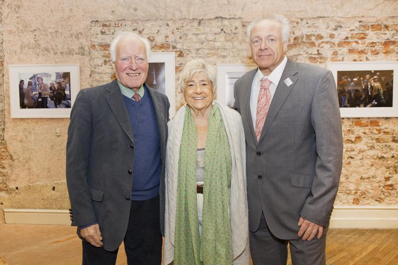 Desmond Guinness, Susan Wood & Patrick Guinness