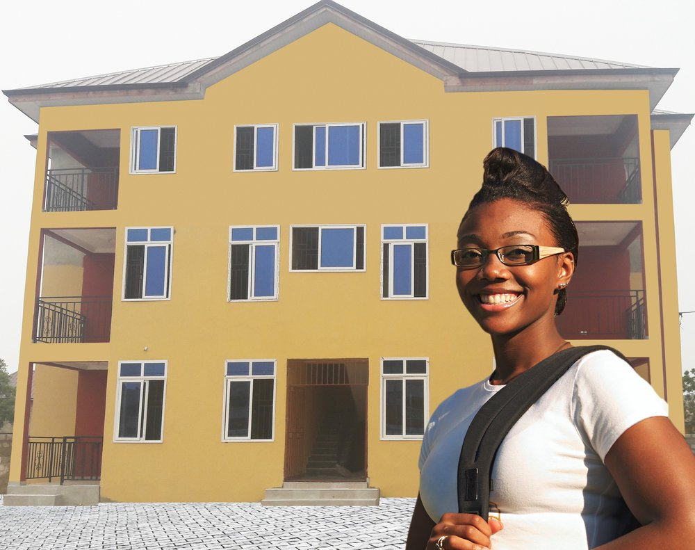 Studying in a new country is easier than you would expect due to Pleroma Academy services. Located in community 18 off the spintex road Accra, Pleroma has all its amenities just minutes away from its campus.  Our apartments are located within walking distance of the campus, these apartments are perfect for those students who wish to preserve their independent lifestyle, yet wish to remain connected to other international students.