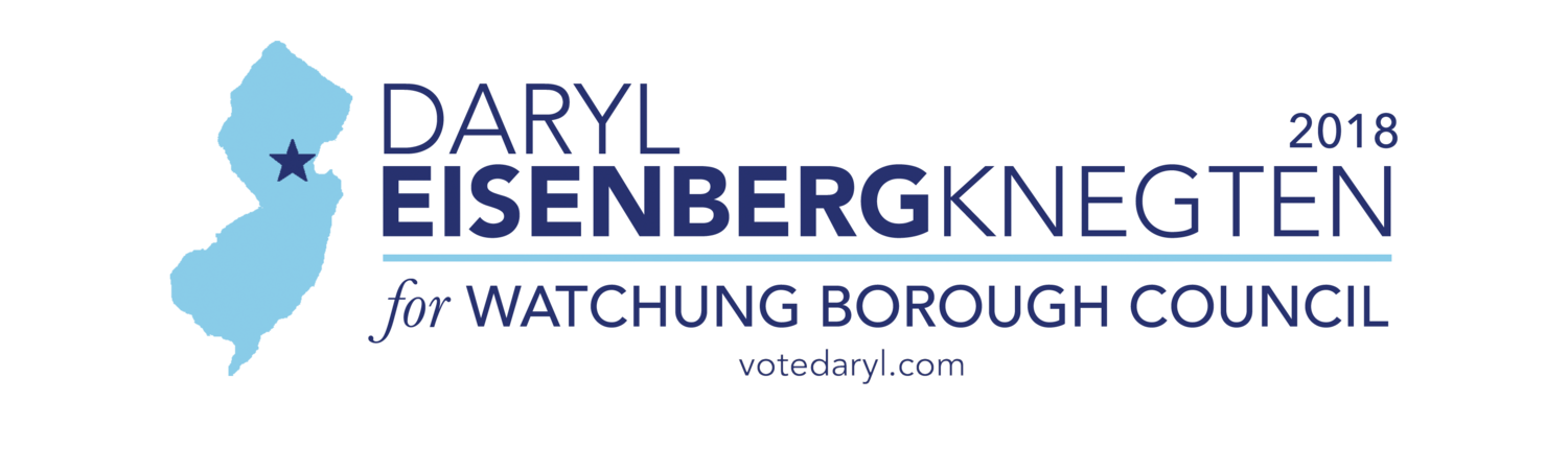 Vote Daryl 2018 | Watchung Borough Council