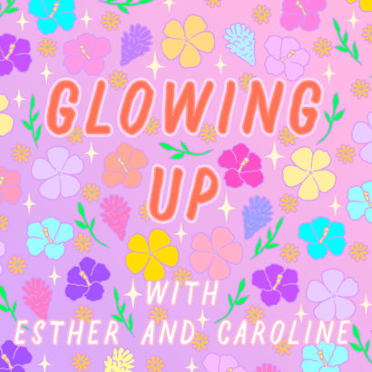 2. Glowing Up - One of my two favourite beauty podcasts made by women comedians Esther and Caroline where they discuss all things beauty and wellness. They challenge each other to take on weekly missions, like drinking lemon water in the morning or experimenting with face wash formulas, and I find myself taking on these fun little challenges with them.