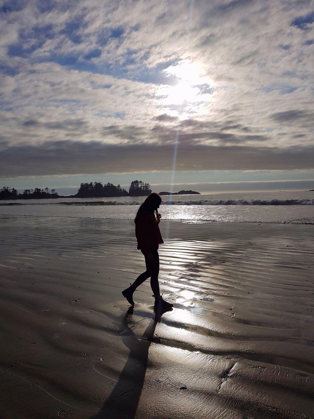 Chesterman Beach walk.