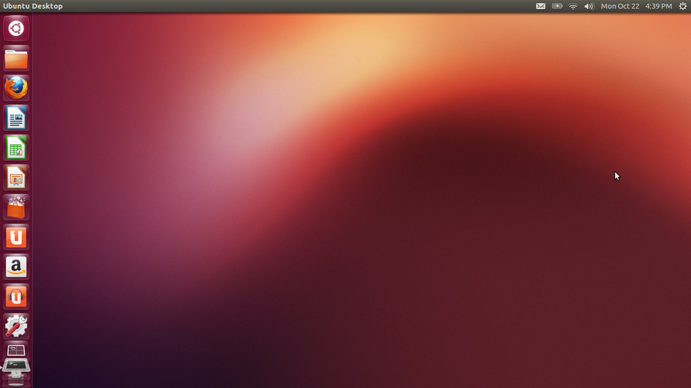 Ubuntun työpöytä