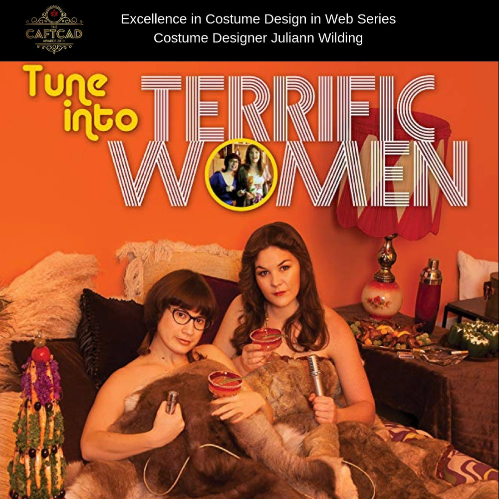 Terrific Women - Costume Designer: Juliann WildingWardrobe Assistant: Steph Ligeti