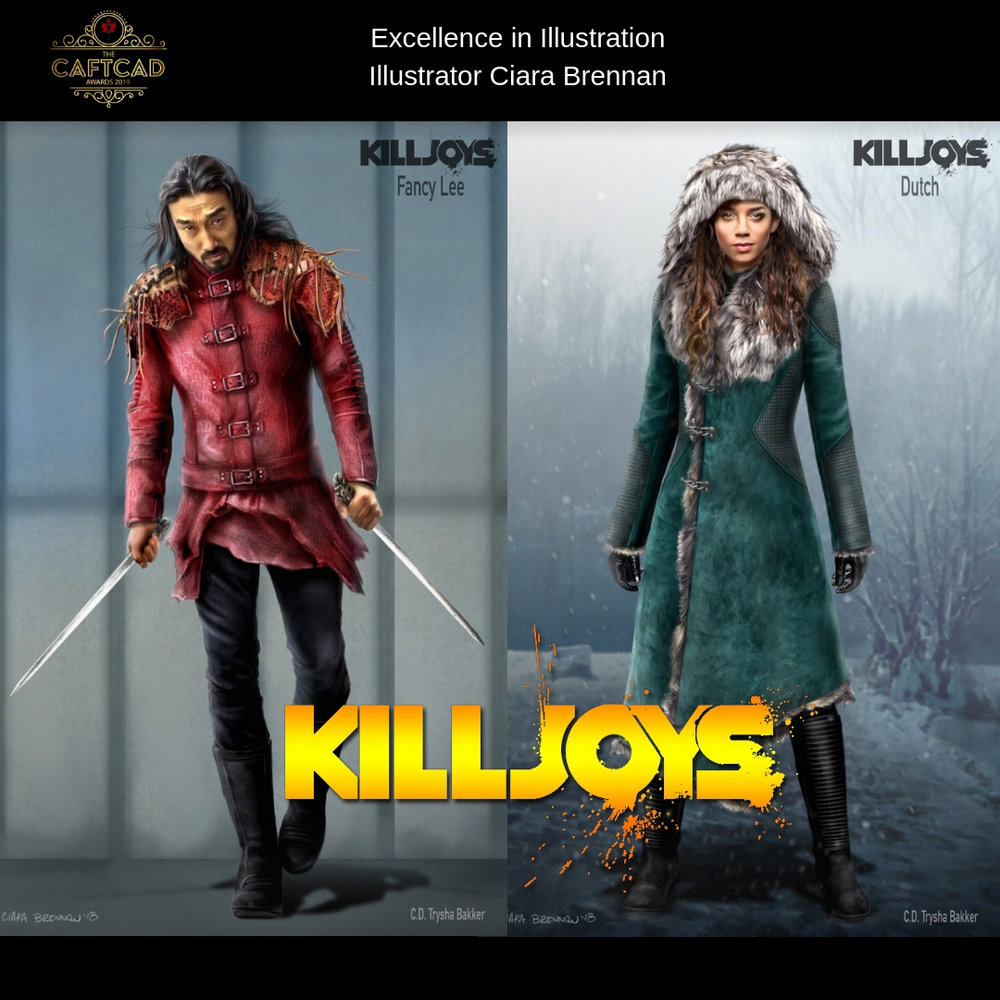 Killjoys – Season 4 - Illustrator Ciara Brennan