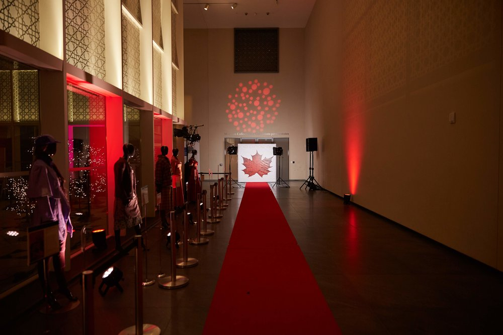 The Aga Khan Museum on the night of the 2019 CAFTCAD Awards