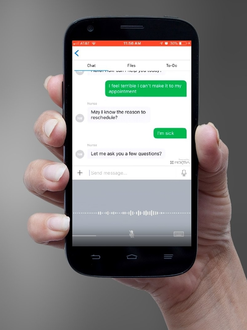 DocSynk® Patient Navigator™ AI helps patients get prescription refills, reschedule appointments, and help patients adhere to care plans.