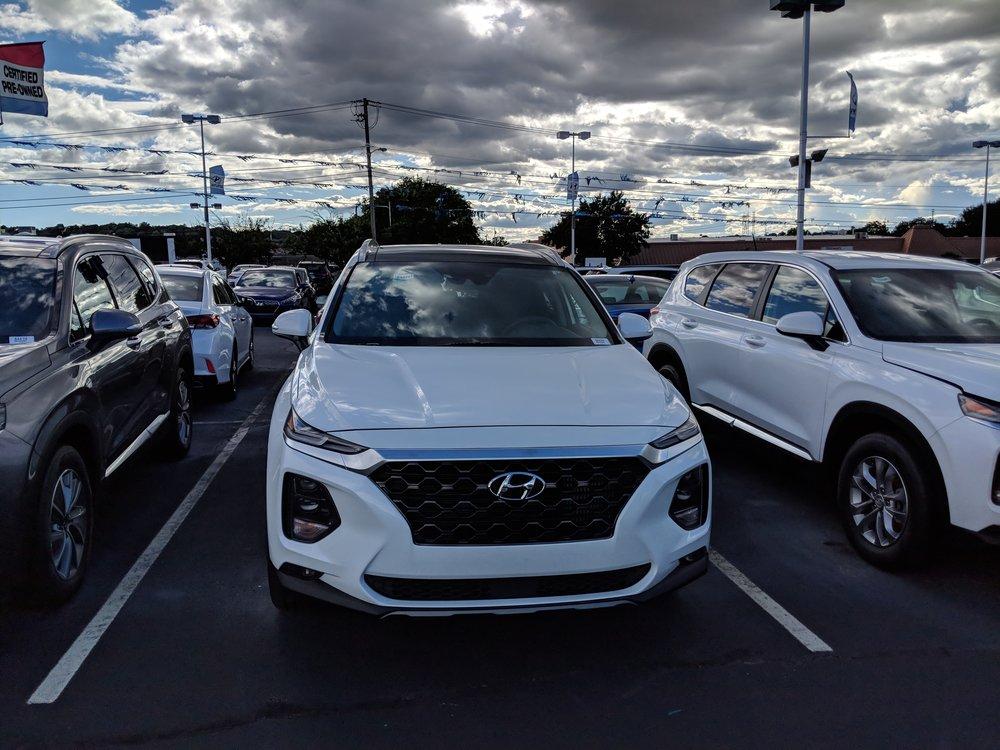 The 2019 Hyundai Santa Fe from Grayson Hyundai, Knoxville, Tennessee