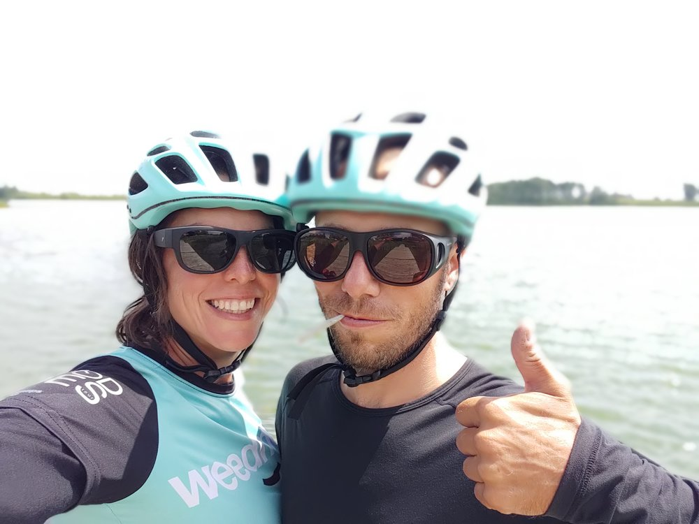 Canadian Couple Takes Cross Country Bike Tour to Mark Legalization - By Jessica Peralta / Marijuana.Com