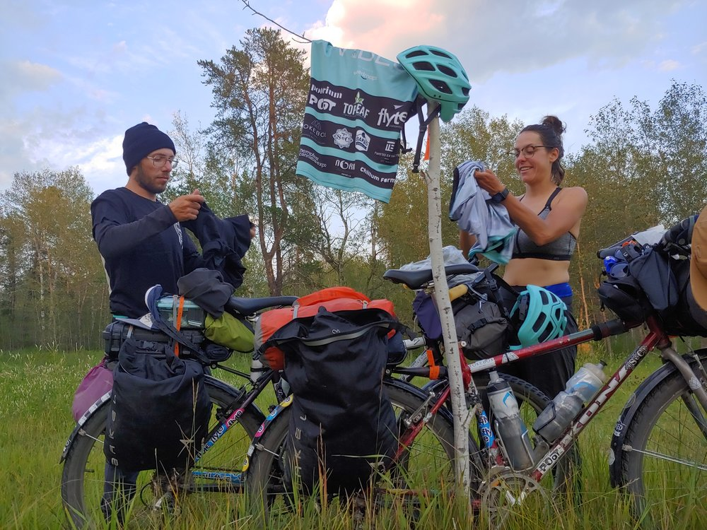 Promoting Postive Use on Canada Bike Trip - By Becky Zimmer / Humboldt Journal
