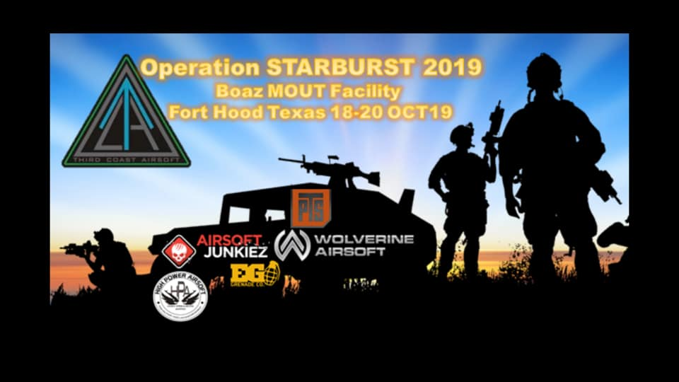 EVENTS — VETERANS FOR AIRSOFT