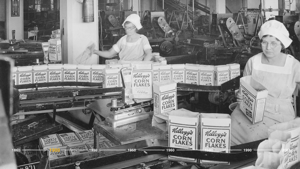 Motivated by a passion for people, quality, and innovation, the Kellogg's brothers shaped an entire industry and secured the trust of the American consumer with their creation of the first-ever breakfast cereal.  They engineered a convenient, tasty breakfast.