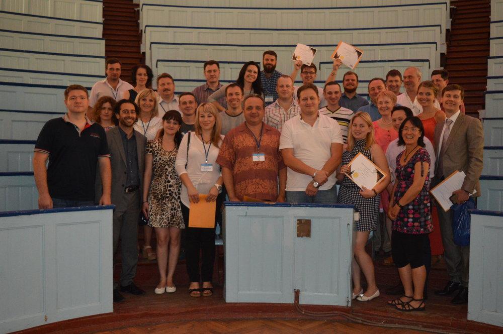 CGS team members with the graduates of the Trauma Team Training