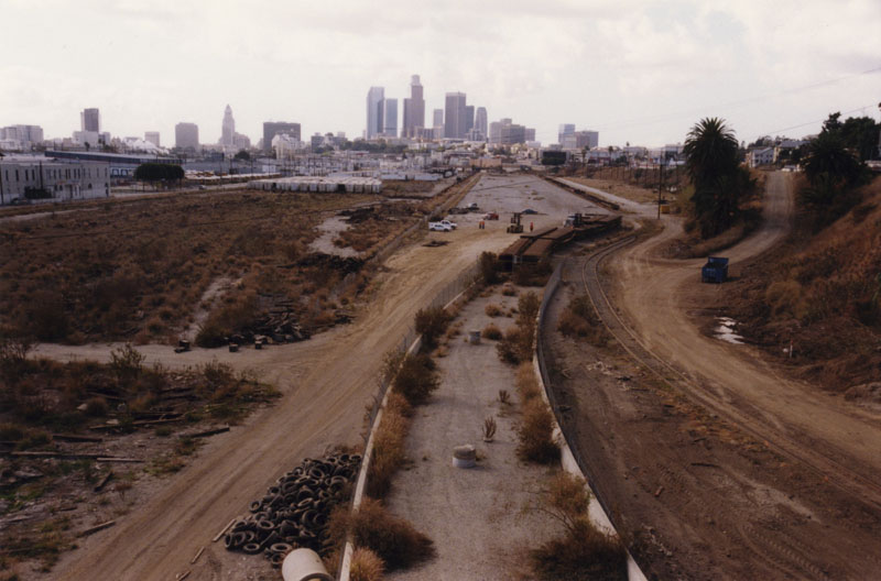 36. View of River Station site from the North Broadway Bridge, 2000