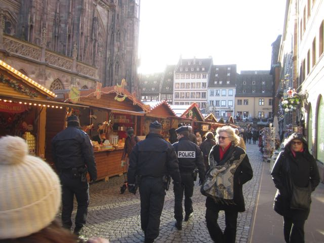 Perhaps given its tourist appeal, the market had a heavier-than-in-past-years police presence.