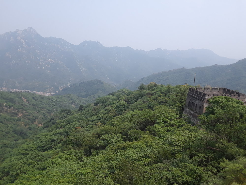 One of the Great Wall's many towers.