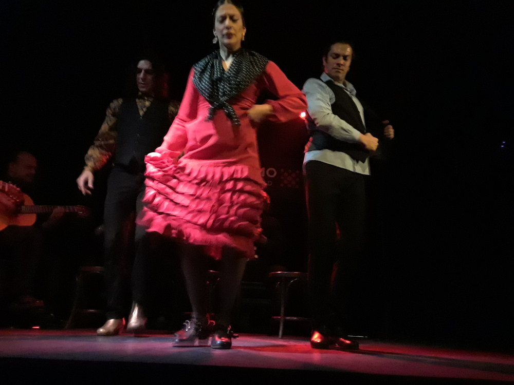 Madrid flamenco dancers