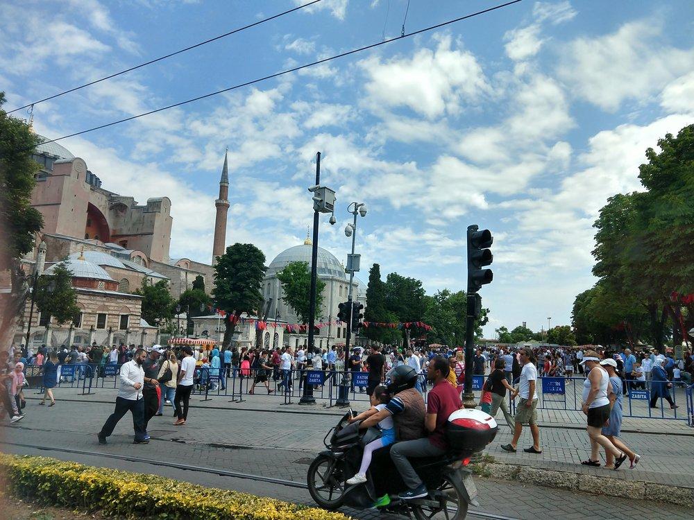 Maybe the Hagia Sophia?