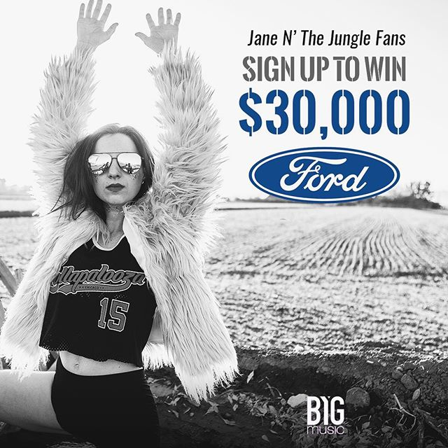 We are so excited to announce our partnership with @ford! You can win $30,000 towards a Ford vechile and at the same time help @janenthejungle keep pursuing our dream of sharing our music with the world. It's FREE to enter, so sign up, watch the video, and opt in! Good luck and thank you all for continuing to support our dreams! Link in bio! #ford #fordmotorcompany #janenthejungle #music #cars #newcar #win #instagood #sweepstakes #instamusic #musicians #alternative #rock #rocknroll #indie #thankful #inspire #dream #rocker #style #fordmustang #like #share #follow #free #fashion #newmusic #band #life #photography